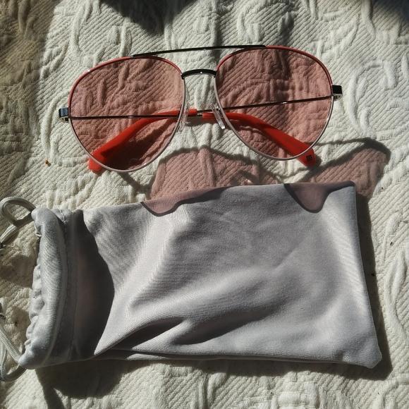 "Polaroid Pink Sunglasses ""New"" Pink"